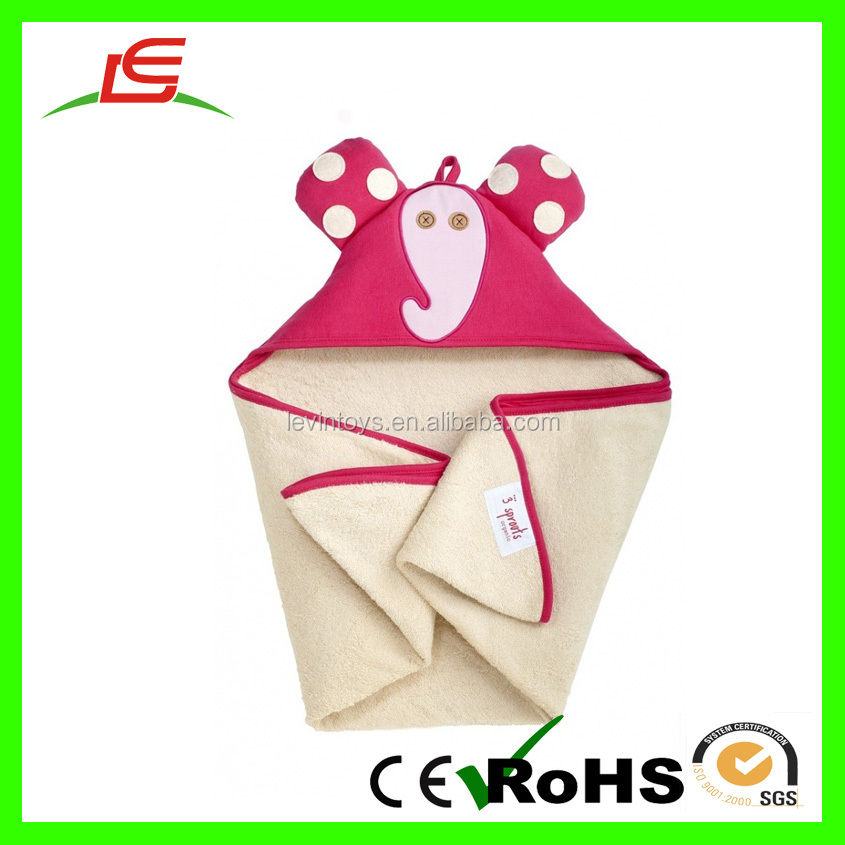 Guangdong Wholesale Color Plush Towels Elephant For Baby Products