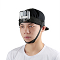 Adjustable Nylon Belt Head Strap Mount Headband with chin mount for gopro accessories