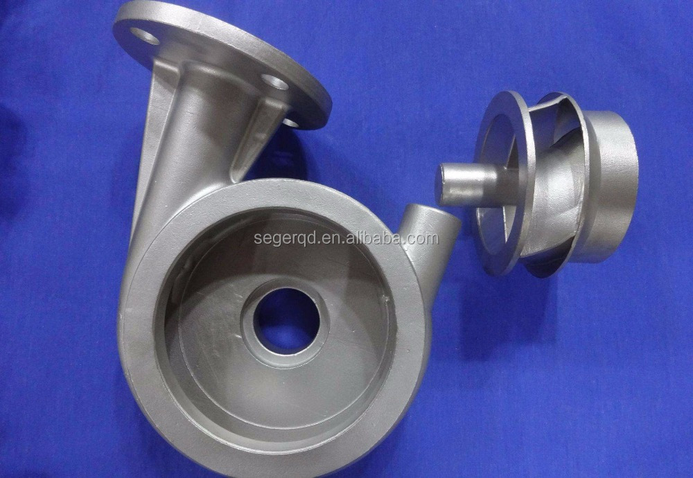 sand casting water pump impeller