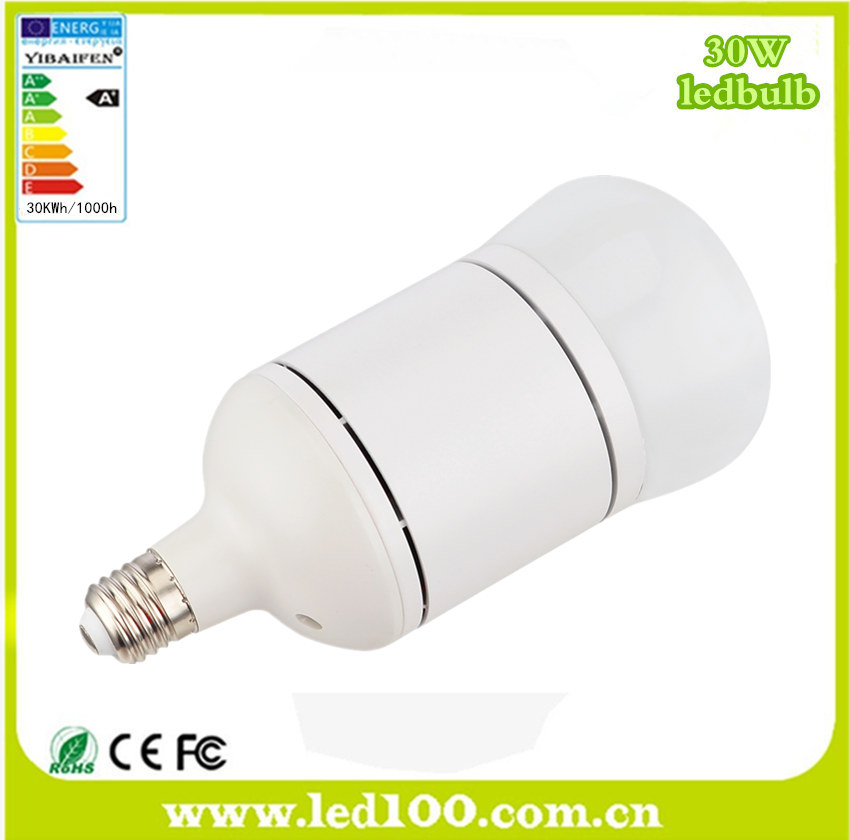 High power E27 30W LED bulb lights for projects