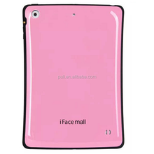 6 colors available iface mall hard PC soft TPU back cover tablet case For iPad Air12
