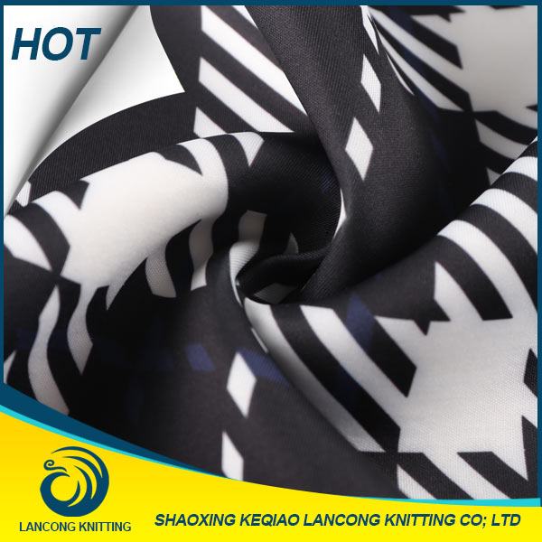 2016 LANCONG plain georgette fabric, fabric for making soft toys, 1000d cordura printed fabric