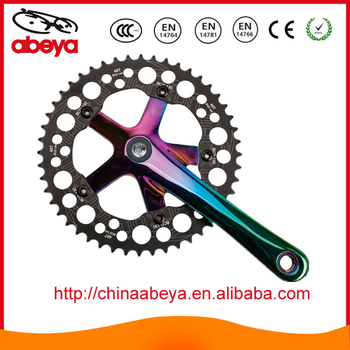 Road bicycle chain wheel