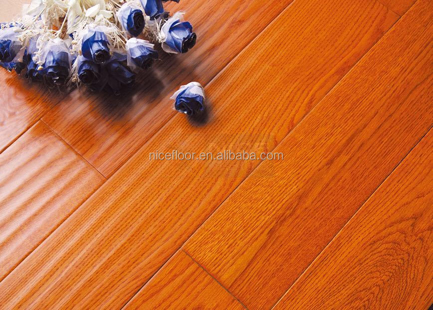 commercial use yellow oak wood multilayer engineered flooring