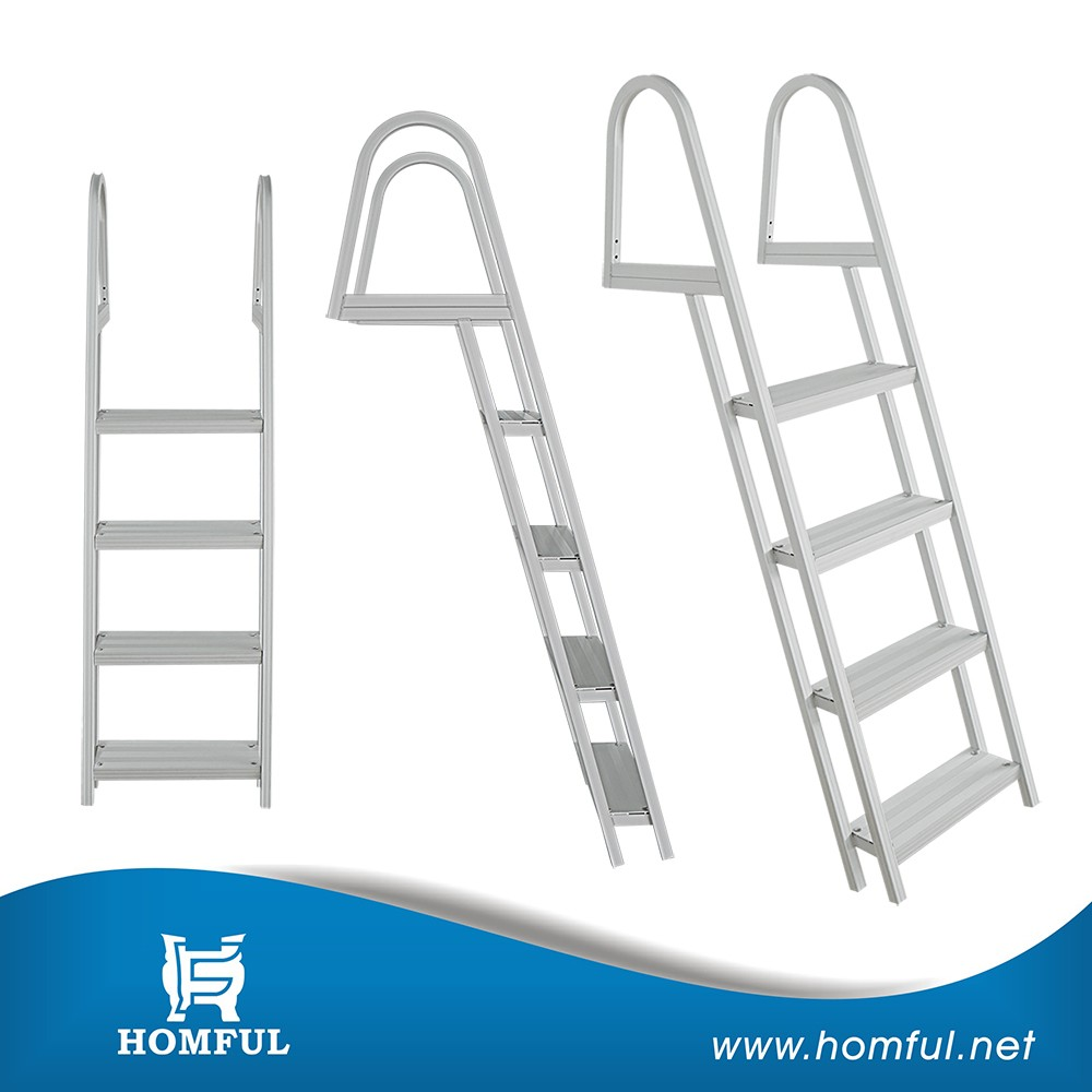Deluxe marine equipment accessory stainless steel boat ladder
