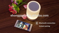 CE ROHS Certificate Factory Wholesale smart lamp Bluetooth Speaker Led Light Hot New Products For 2016