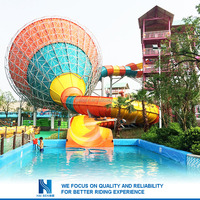 canton fair big water slides for sale