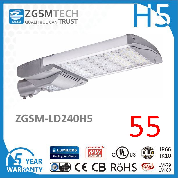ISO9001 Listed Manufacturer Of 240W LED Parking Lot Lamp