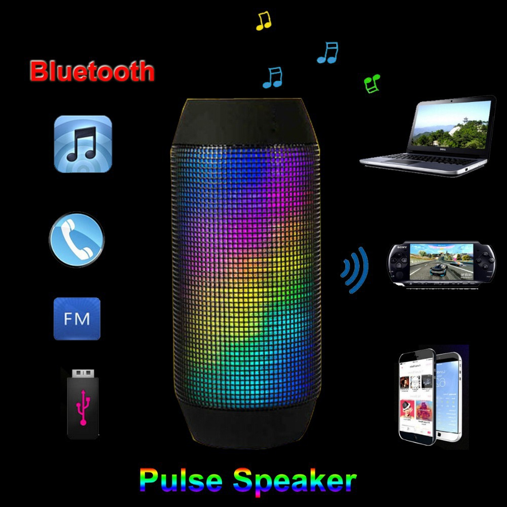 Hot selling computer accessories wireless bluetooth speaker home theater speaker system with Led light