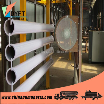 Good quality concrete pump parts-boom pipe for Concrete Pump Truck and trailer