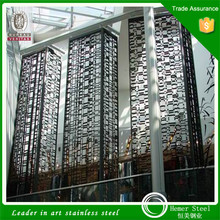 Decorative Color Metal/Stainless Steel Screen for Living Room, Hotel