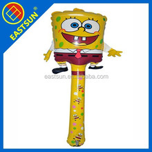 Eastsun Spongebob squarepants children's inflatable toy hammer PVC inflatable toys