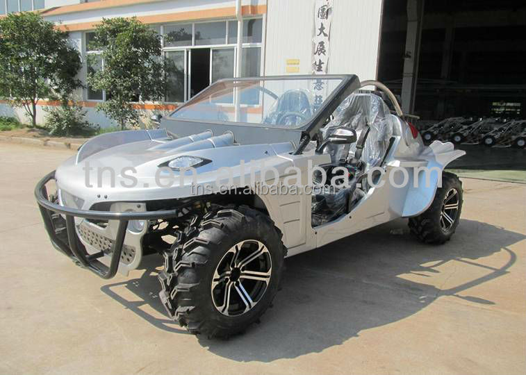 TNS mini cheap 1300CC dune buggy two seat go kart for sale