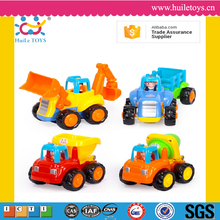 High quality huile toys plastic wholesale friction car truck toys with EN71
