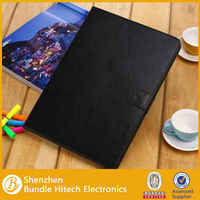 PU leather stand cover for ipad air,for new ipad protective case