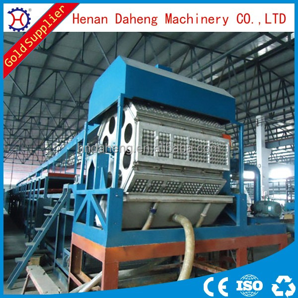 egg tray waste paper recycling production line