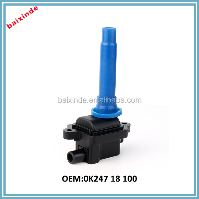 Baixinde brand Hot Selling Auto Ignition Coil/Replacing HYUNDAI Ignition Module 0K24718100