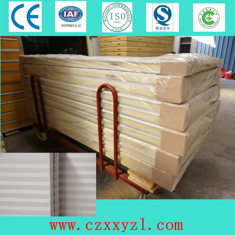 Cold storage polyurethane sandwich wall and roof panels