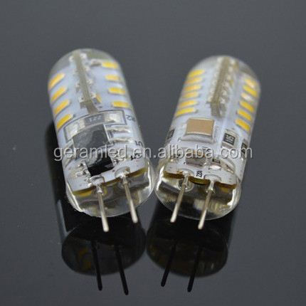 Factory direct sale high lumen cob g4 silicon led lamp 360 degree g4 led bulbs