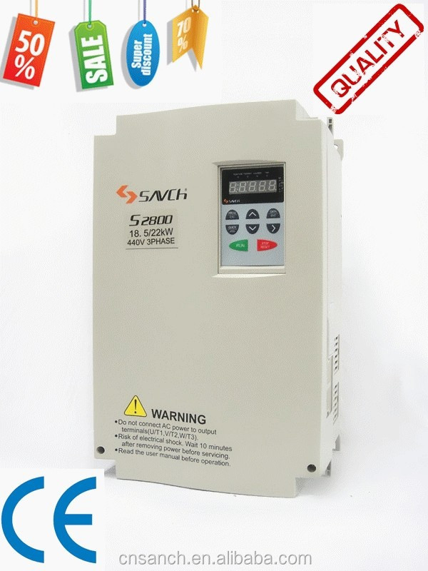 high performance ISO CE Certificated general purpose 400v 415v 440v ac variable frequency medium voltage inverter