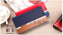 PU Leather Wallet Flip Mobile Phone Case Cover for Sony Xperia Z2