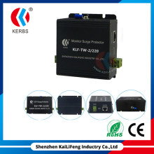 5years warranty best 220V 2-in-1 CCTV Surge Protection for Monitoring Camera CE,RoHS,TUV Approved