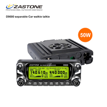2017 New arrival dual band mobile radio ZASTONE D9000 two way radio with 50W powerful output power transceiver