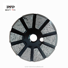 BTD Wholesales STI varies bond floor disc-single metal diamond grinding shoes for concrete