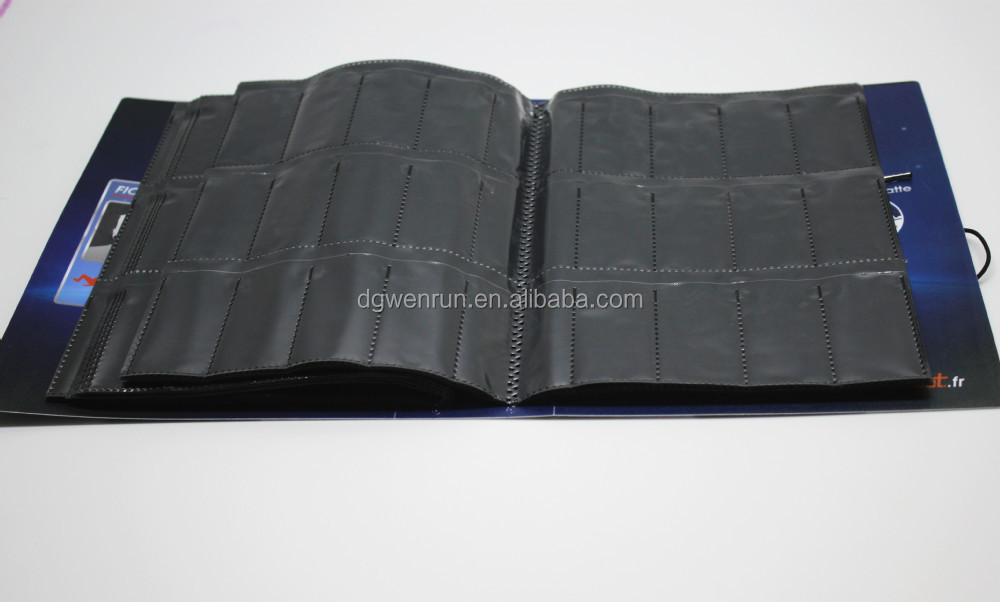 Fancy black sheet photo album with Basketball player printed