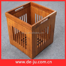 Hollow Cloth Bevarage Large Size Natural Bamboo Cage