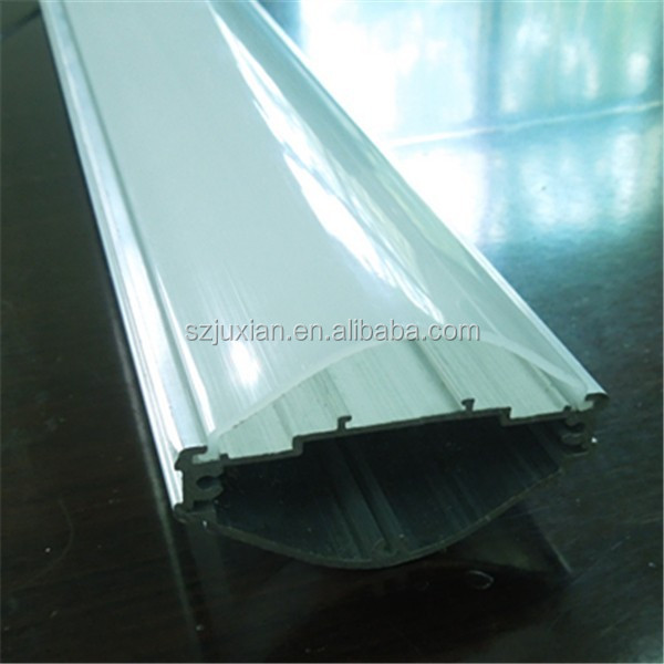 extrusion plastic led cover, LED shades, PC lamp cover