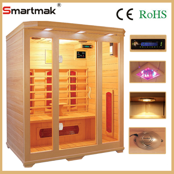 infrared steam hot tub sauna shower room with CE certification