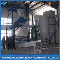 Full automatic dry mortar mixing and cement making plant
