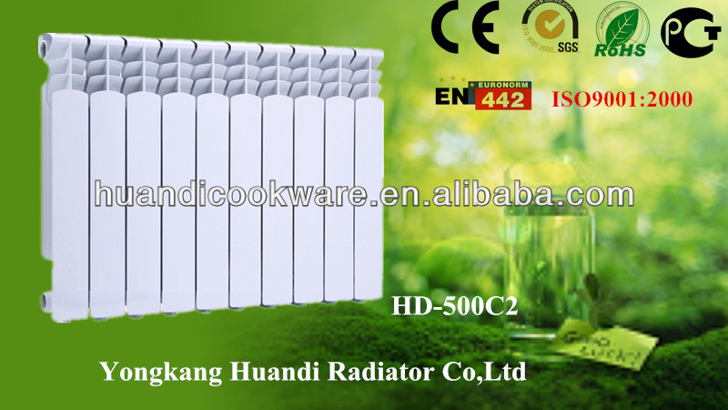 Die-casting central heating hot water aluminum radiator for home made in yongkang