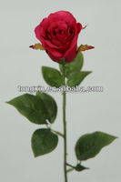 27324N Good material length rose flower cabbage bud making silk flowers in China Guangdong Privince.