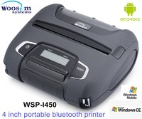 112mm handheld portable android bluetooth printer WSP-I450