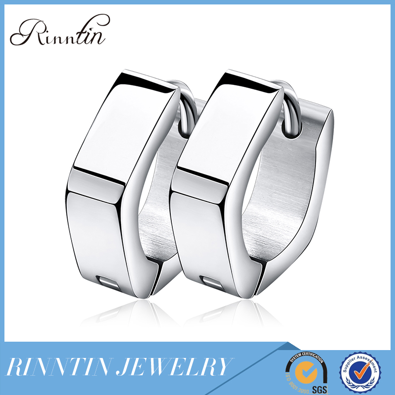 Rinntin Fashion Pentagon Stainless Steel Hypoallergenic Earrings Jewelry Autism Jewels Online Shopping RIGTE25