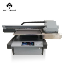 Factory price uv6090 flatbed printer with varnish and colors for cell phone,business card