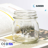 custom style high quality 250ml glass jar
