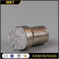 Newly top sell BA15S-F5-9LED 1156 led up light bulb