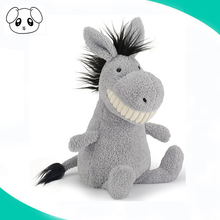 high quality eco-friendly baby soft animal donkey stuffed plush toy