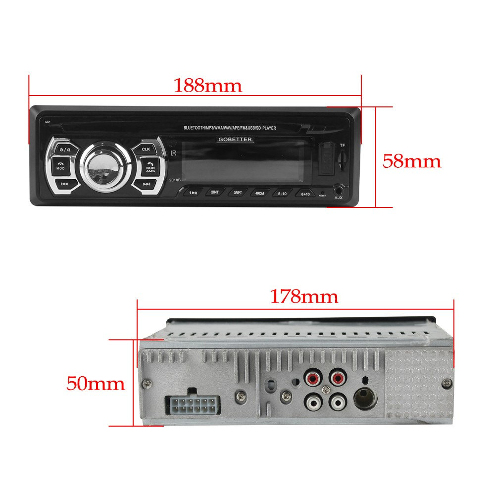 With Favourable Price Fixed Panel USB/SD/MMC port/ car stereo mp3 usb sd
