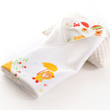 100% Cotton Kids Hooded Poncho Bath Towel for Babies
