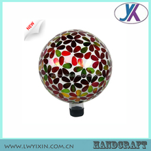 10' hollow outdoor Mosaic glass globe light covers