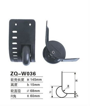 ZQ-W036 Suitcase Caster Wheel