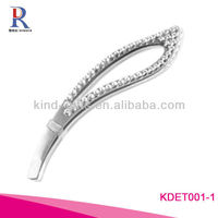 Colorful Rhinestone Trim Tweezers In Beauty And Personal Care