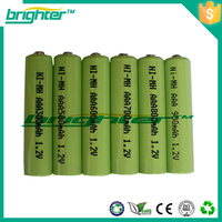 1.2v 300mah ni mh battery aaa rechargeable battery