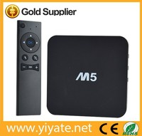 amlogic s805 A5 M5 TV BOX Support H.265 decoding Metal Case Google Android 4.4 TV BOX