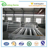 Creditable partner Cheap galvanized cattle yard fence panels for sale