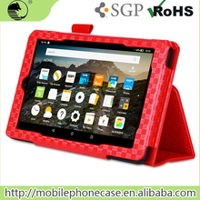 PU Wallet Tablet Cover For Amazon Kindle Fire 7 China Wholesale Shockproof Flip Tablet Case